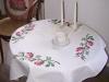 obrus w róże Maria Jolanta Pilecka