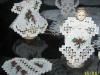 haft hardanger:œwišteczne aniołki-Barbara Bisiorkowska