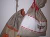 worek na orzechy-Małgorzata Oleszczyk, worek z różyczkami-Krystyna Bujnowicz