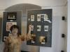 A tutaj Krysia Byjnowicz pokazuje swoje pięknie wyhaftowane listki.