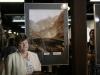 Jola Liotka ze swoją dwukrotnie wyróżnioną pracą. Jedna z nagród to Grand Prix wystawy.