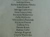 Lista autorek prac umieszczonych na tej wystawie.
