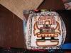 Poduszka wykonana przez peruwiańskich Indian