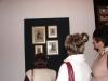 Prace Tadeusza Kłopockiego - ten sam obrazek wyhaftowany na kanwach i płótnie o różnych gęstościach.