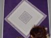 Przepiękna hardangerowa serweta wykonana przez Barbarę Kąsowską